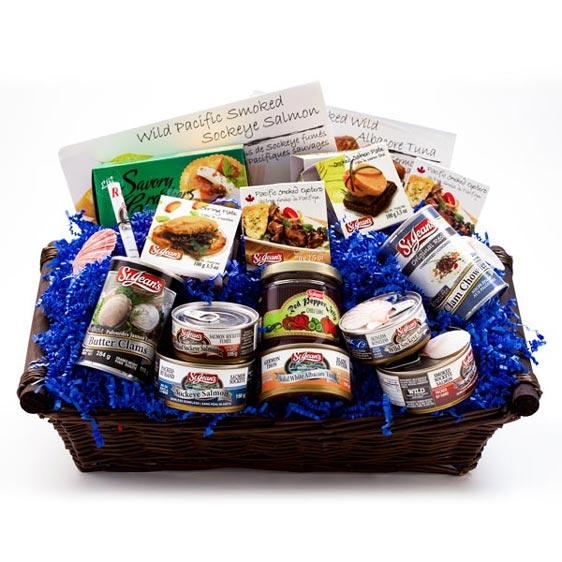 St. Jean's Seven Seas Gift Basket