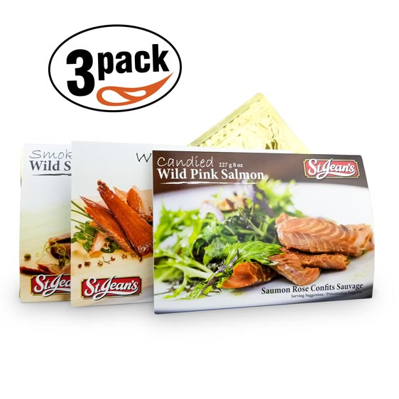 Smoked Salmon Trio Pouch Pack